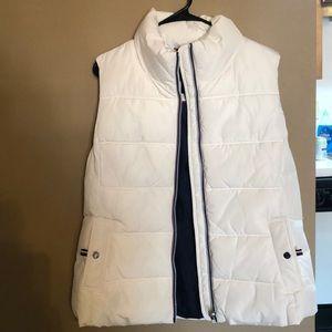 White Tommy Hilfiger Bubble Vest NWT!